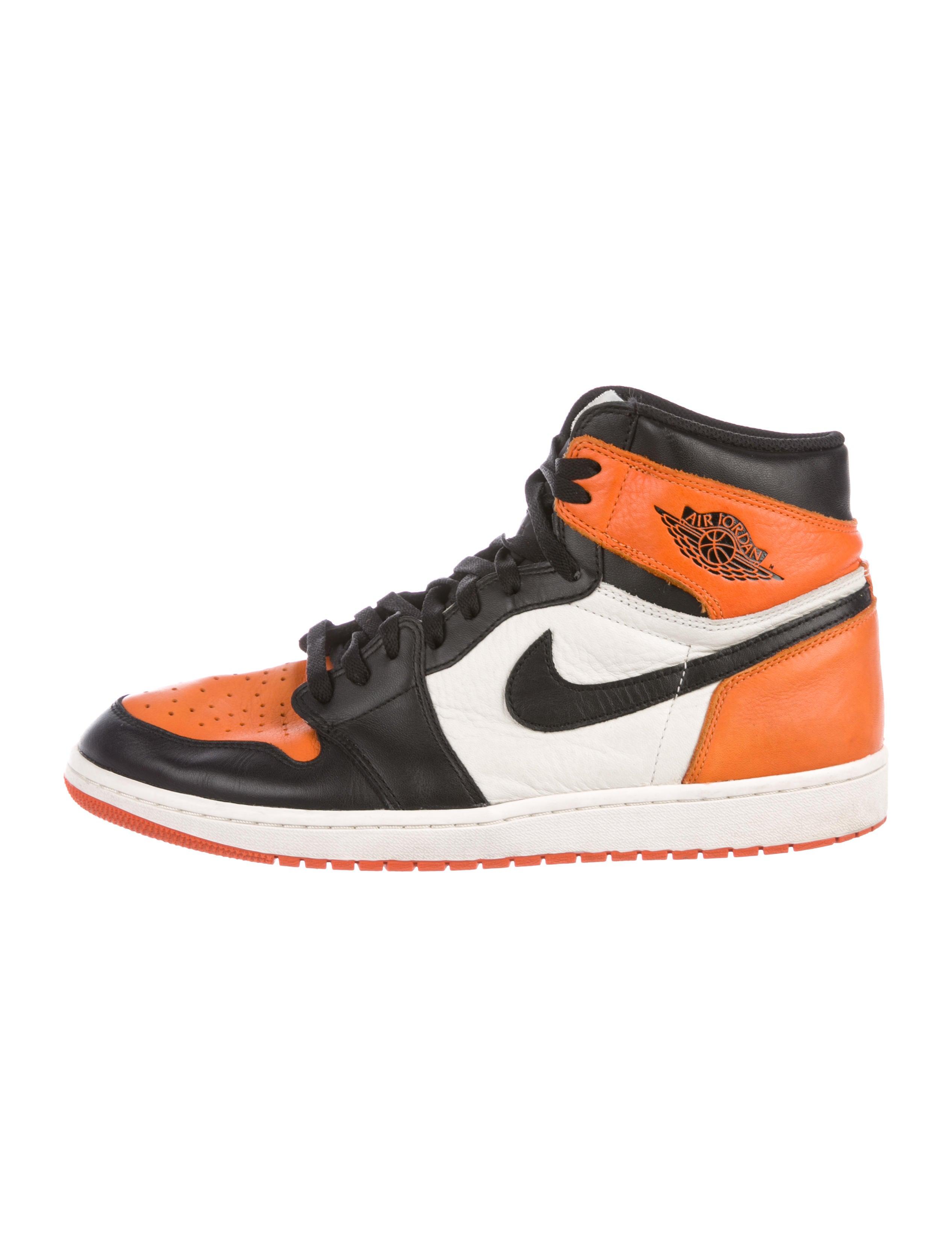 timeless design 24cfd 99b57 Nike Air Jordan 1 Retro High OG Shattered Backboard Sneakers