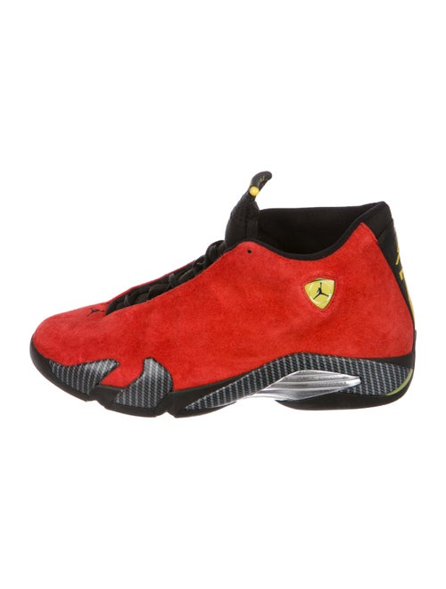 the best attitude 20a0c 8dc1f Nike Air Jordan 14 Retro Ferrari Sneakers - Shoes - WNIAJ21272   The ...