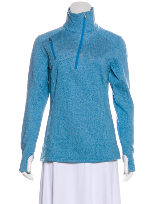 Nils Turtleneck Long Sleeve Sweatshirt w/ Tags Blu