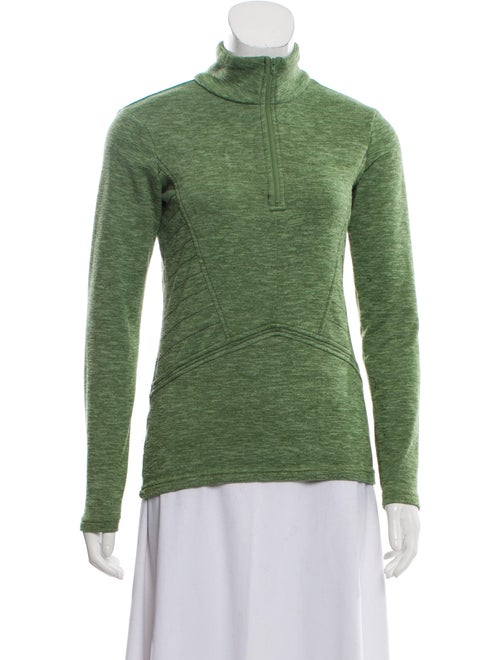 Nils Turtleneck Long Sleeve Sweatshirt Green