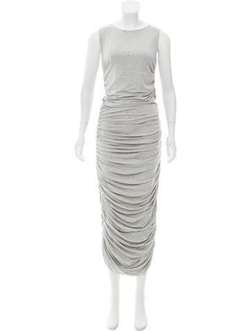 Norma Kamali Jersey Maxi Dress None