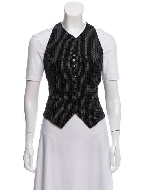 Norma Kamali Wool Vest Wool