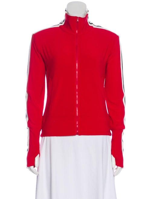 Norma Kamali Printed Performance Jacket Red
