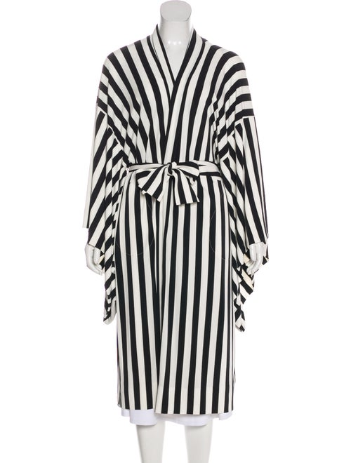 Norma Kamali Striped Robe w/ Tags
