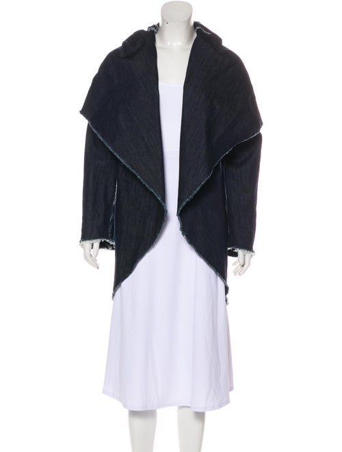 Norma Kamali Coat Blue