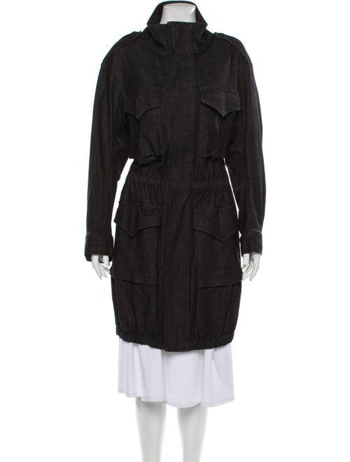 Norma Kamali Coat w/ Tags Black