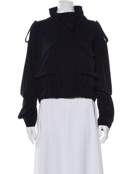 Norma Kamali Utility Jacket Blue