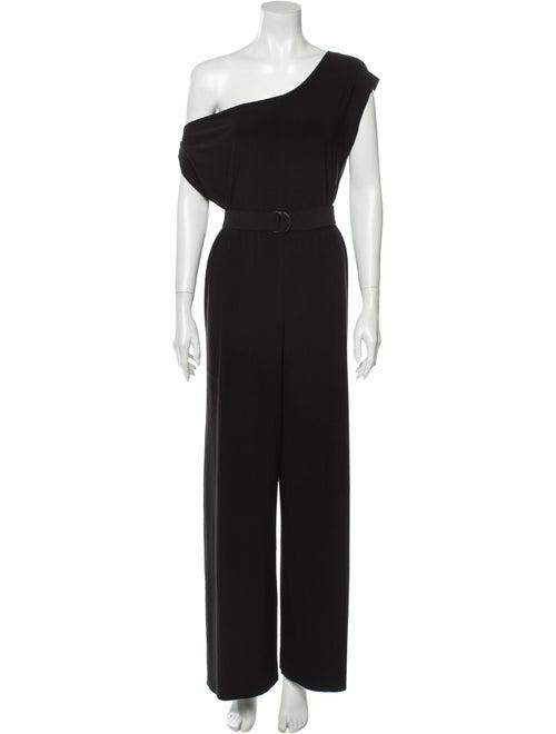 Norma Kamali One-Shoulder Jumpsuit w/ Tags Black