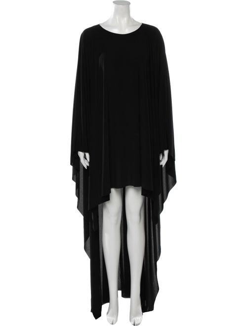 Norma Kamali Hawtrey Mini Dress Black