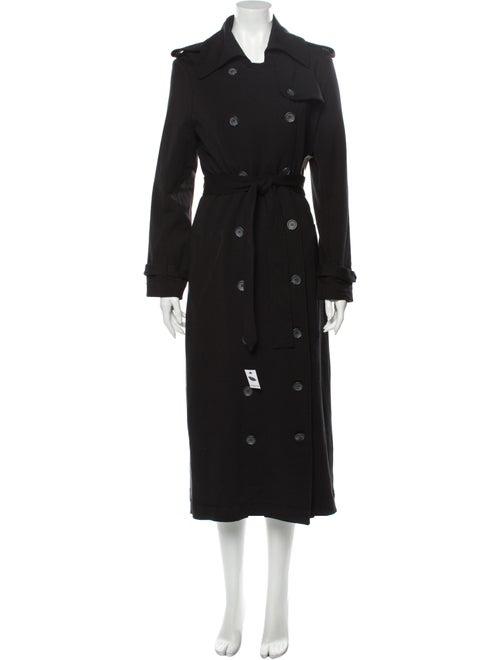Norma Kamali Trench Coat w/ Tags Black