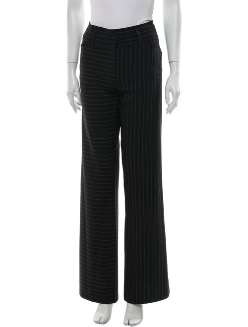 Norma Kamali Striped Wide Leg Pants