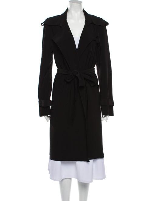 Norma Kamali Trench Coat Black