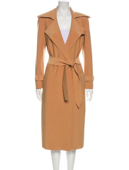 Norma Kamali Trench Coat Brown