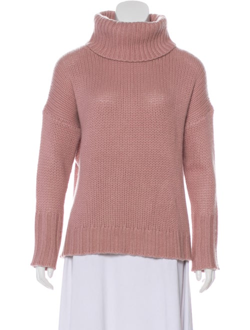 Naked Cashmere Cashmere Turtleneck Sweater Pink