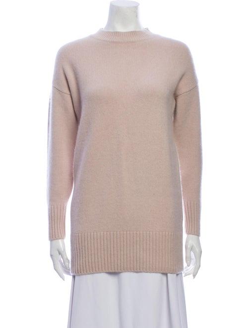 Naked Cashmere Cashmere Mock Neck Sweater Pink