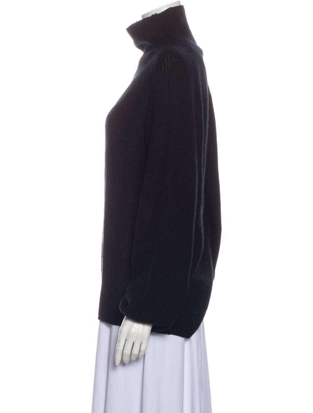 Naked Cashmere Cashmere Turtleneck Sweater Black - image 2