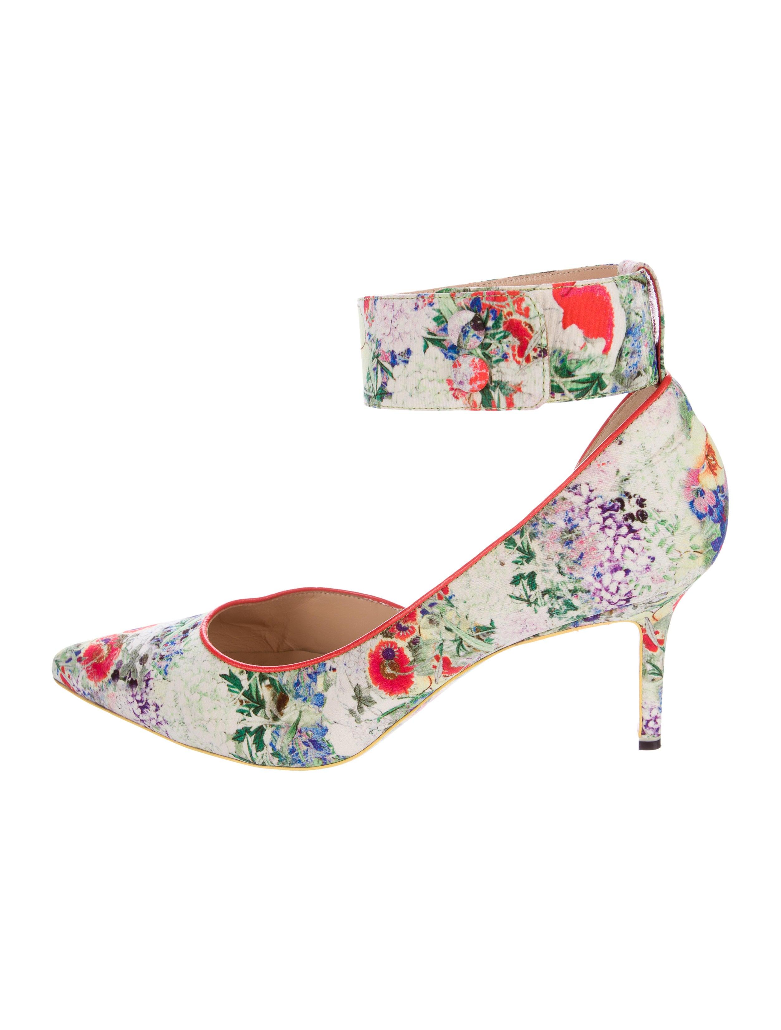 8feb1999ca95 Erdem x Nicholas Kirkwood Floral d Orsay Pumps - Shoes - WNKDS20012 ...