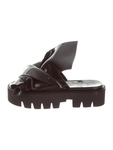 N°21 x Kartell Slide Knot Sandals None