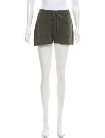 NLST Cashmere Mini Shorts None