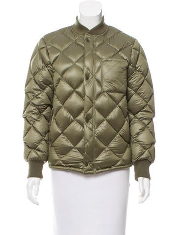 NLST 2015 Quilted Bomber Jacket None