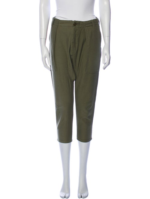 Nlst Straight Leg Pants Green - image 1