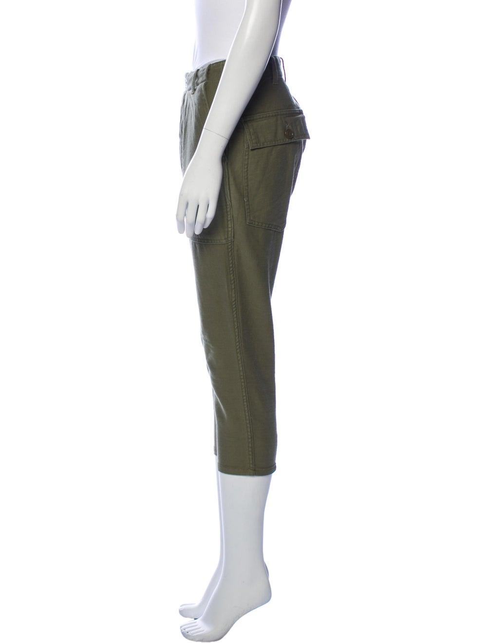 Nlst Straight Leg Pants Green - image 2