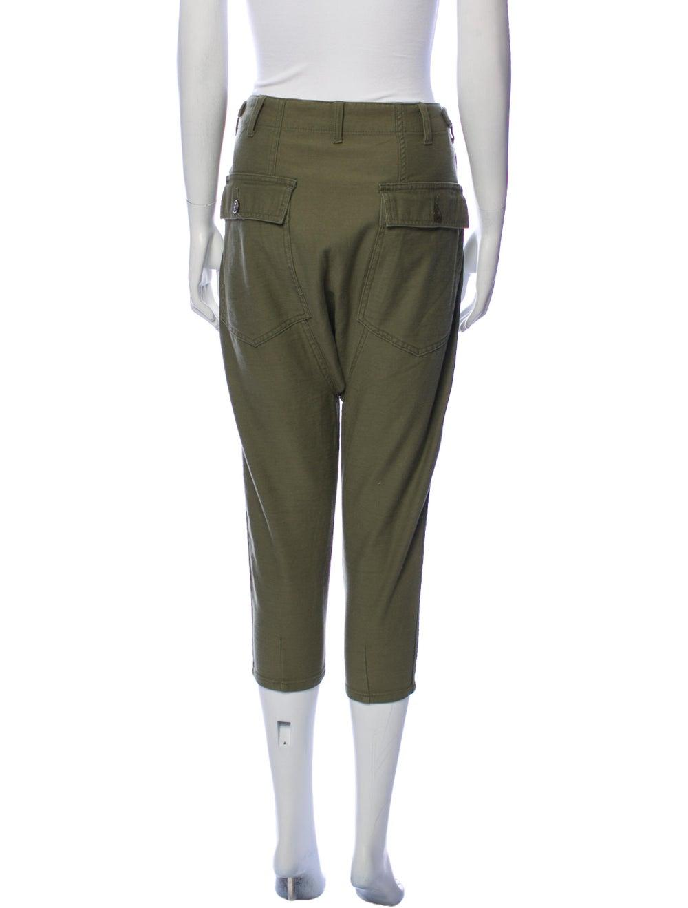 Nlst Straight Leg Pants Green - image 3