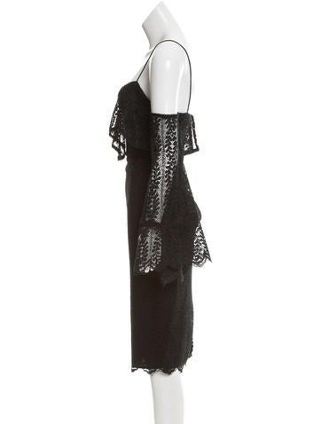 Ivy Lace Cold Shoulder Dress w/ Tags