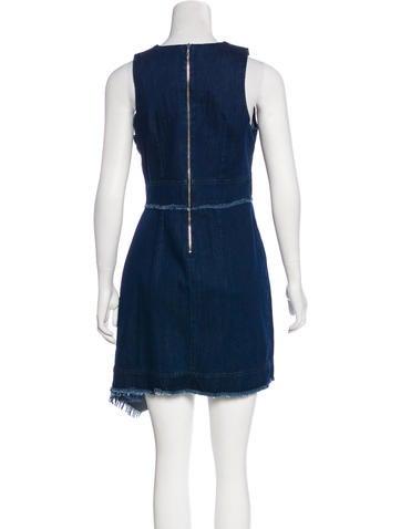 Denim Mini Dress w/ Tags