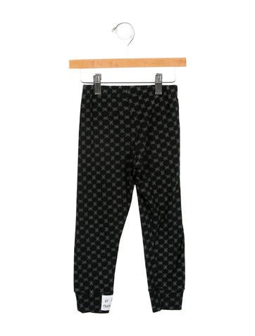 Nununu Kids' Printed Rib Knit Leggings w/ Tags None