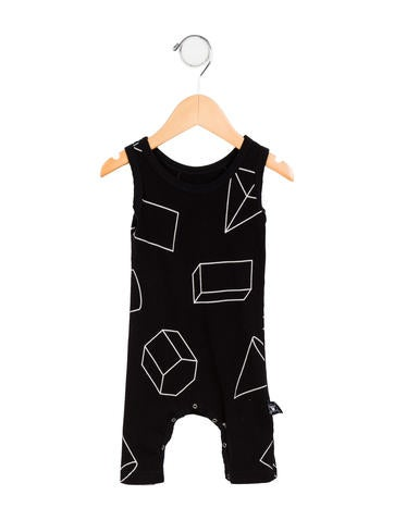 Nununu Boys' Sleeveless All-In-One None