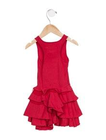 Nununu Girls' Sleeveless A-Line Dress