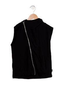 Nununu Girls' Hooded Zippered Jacket
