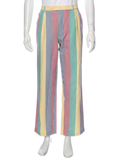 Noah Striped Pants Blue