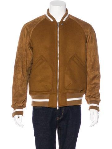 Nonnative Suede-Trimmed Varsity Jacket None