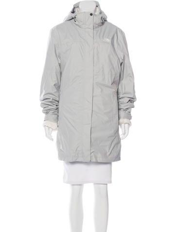 Hooded Knee-Length Coat
