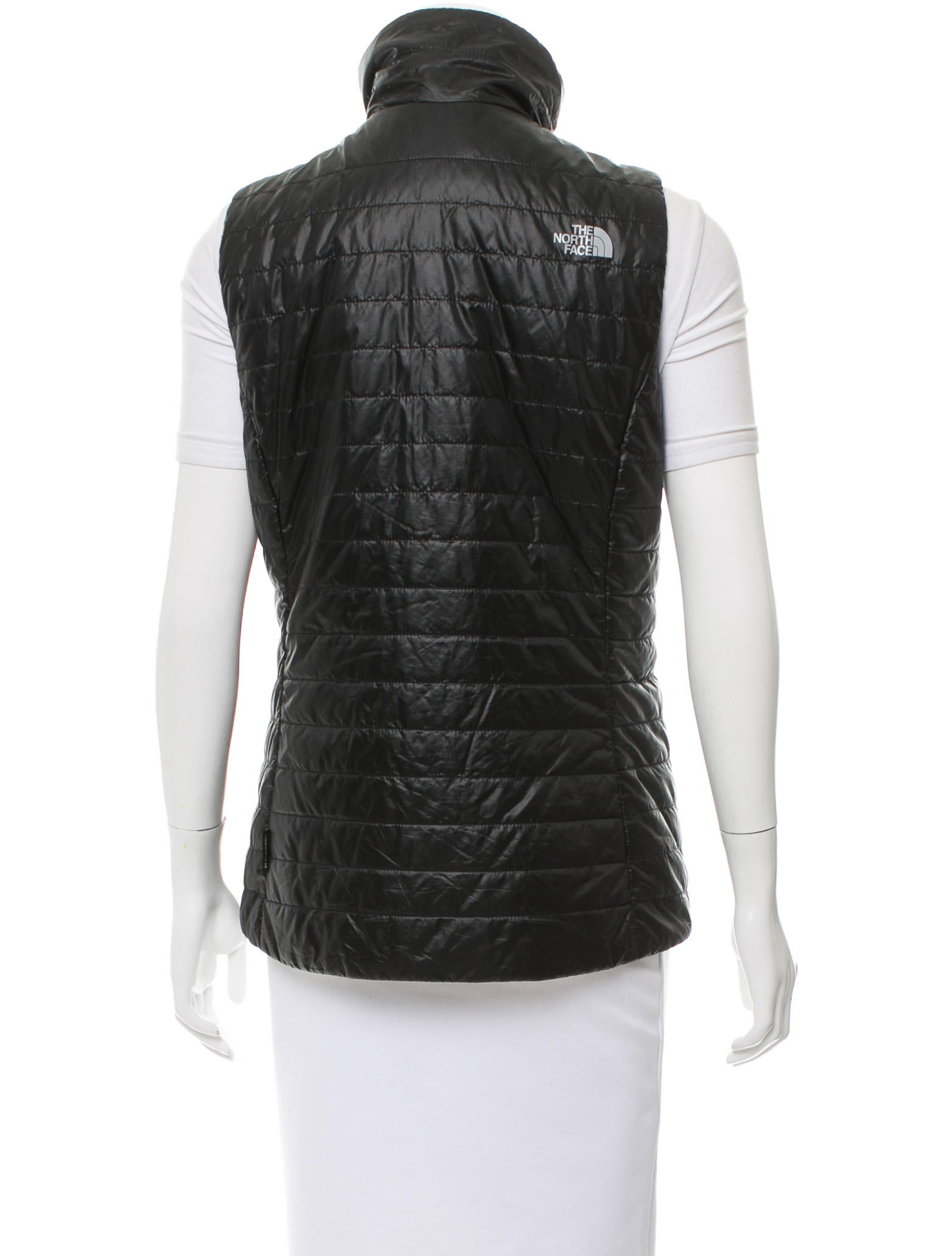 Ladies Ultra Light Puffer Vest Made of % nylon shell and with 5 oz. polyfill insulation, this puffer vest is perfect to layer on. This vest features side zippered pockets, stand-up collar, open waist hem and a form flattering fit.