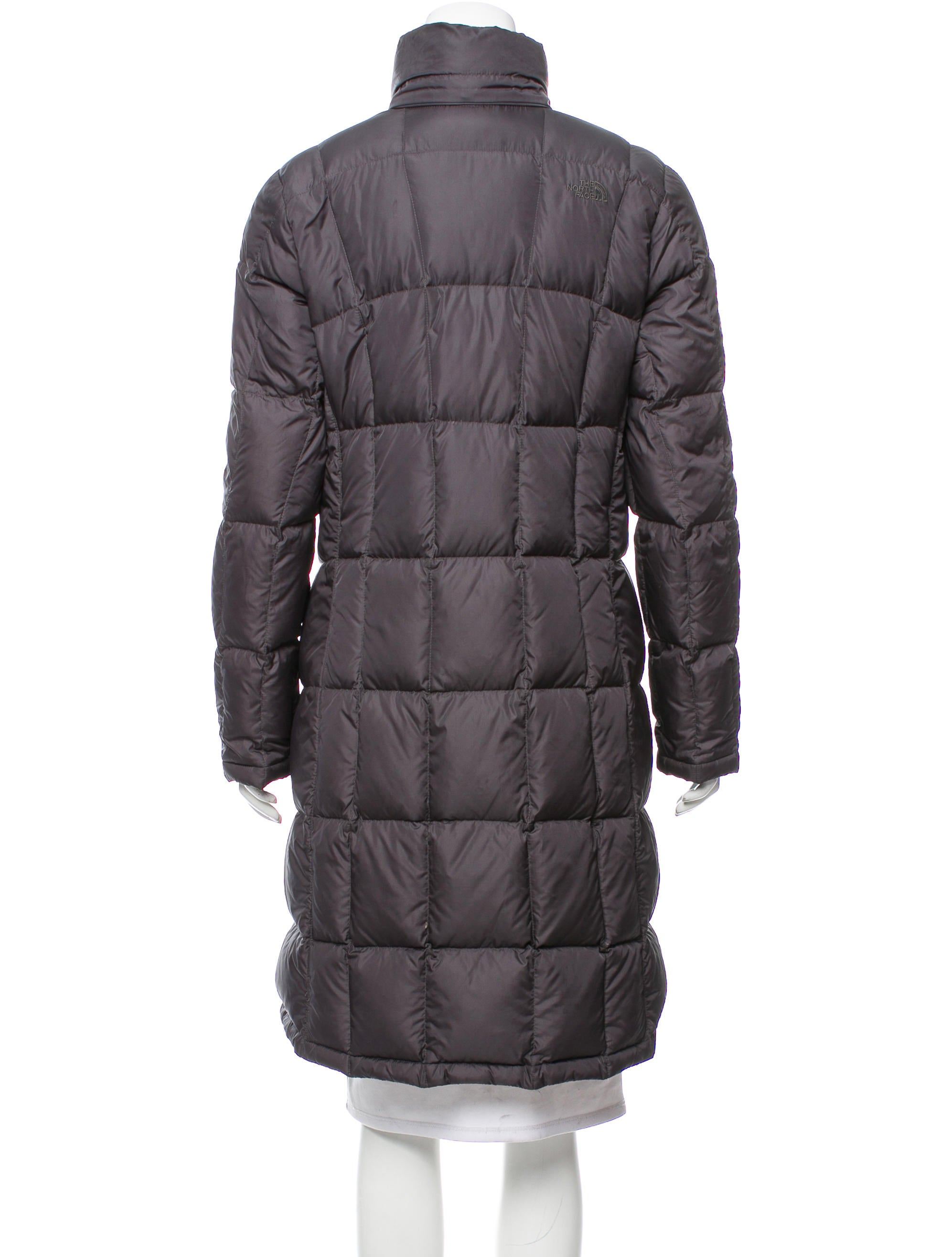 The North Face Knee Length Down Coat Clothing