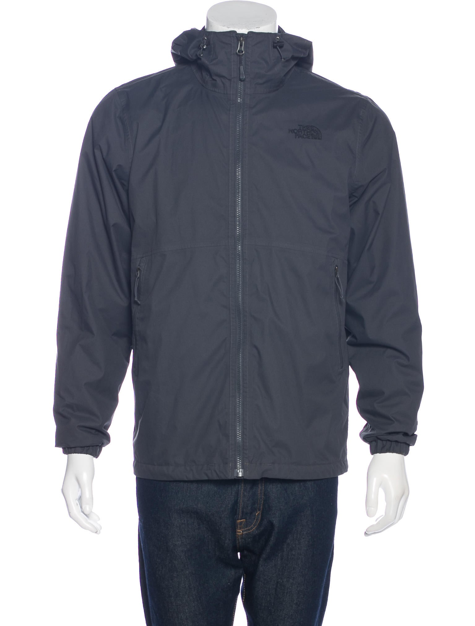 the north face hyvent layered jacket clothing wnorh20854 the realreal. Black Bedroom Furniture Sets. Home Design Ideas