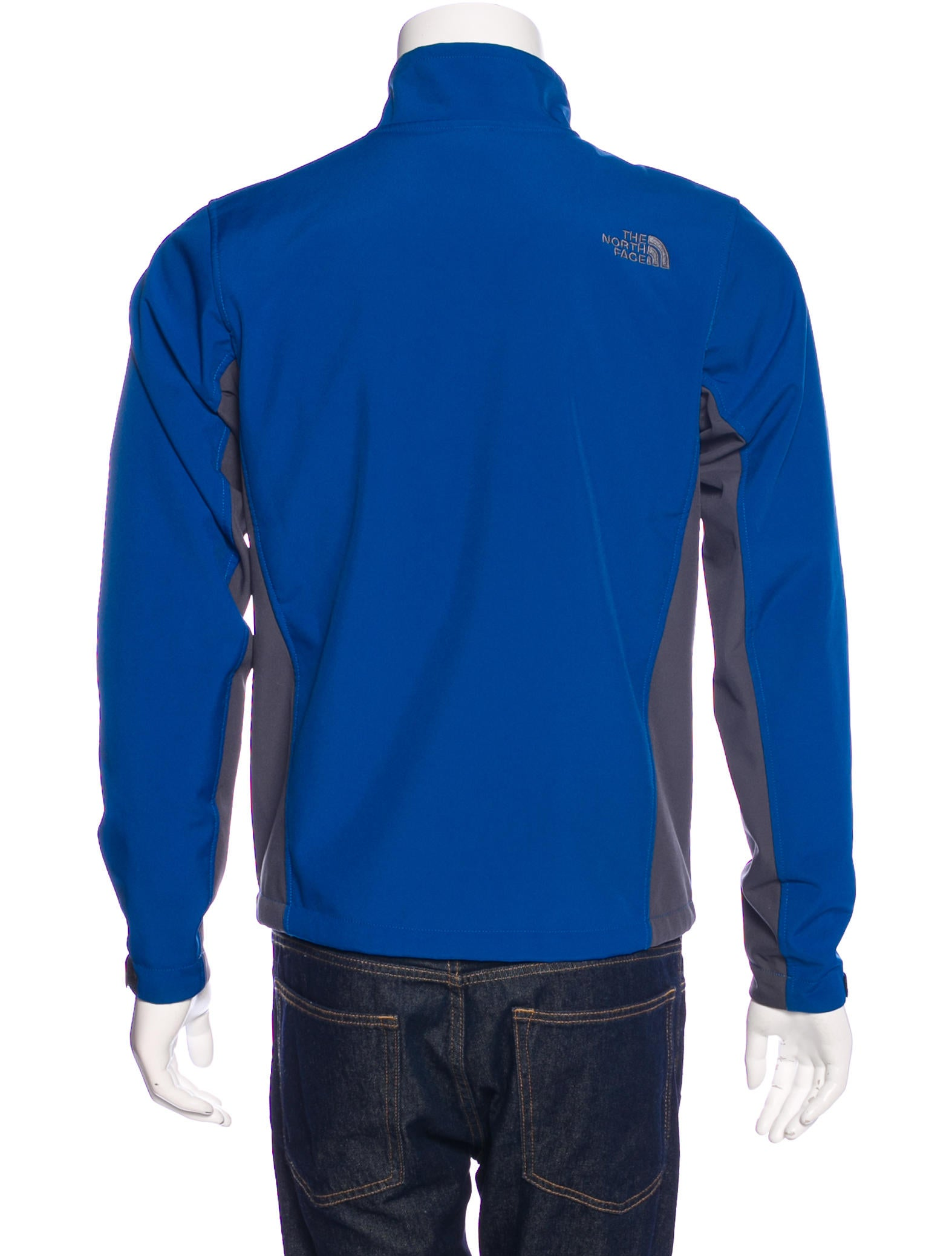 The north face fleece lined zip jacket clothing