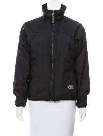 The North Face Athletic Zip Front Jacket None