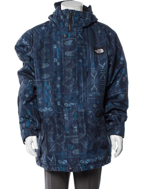 The North Face Printed Jacket Blue