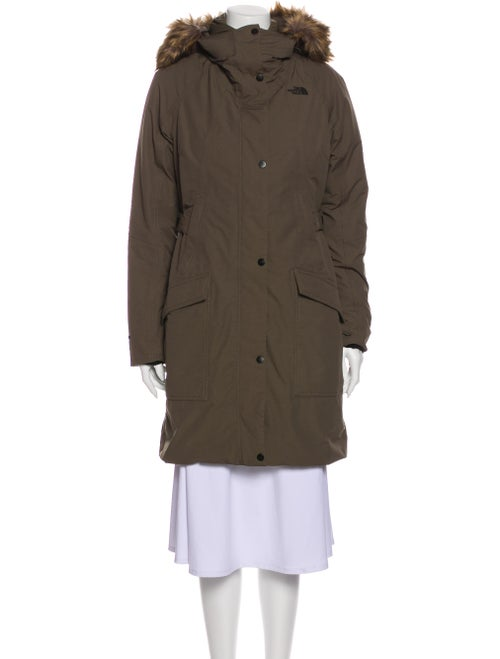 The North Face Down Coat Green