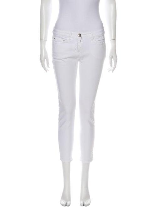 November High-Rise Skinny Leg Jeans White