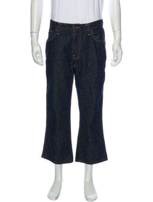 Nudie Straight-Leg Jeans Blue