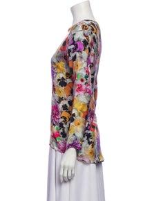 Roseanna Silk Floral Print Blouse