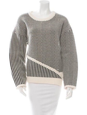 Opening Ceremony Assymmetrical Knit Sweater w/ Tags None