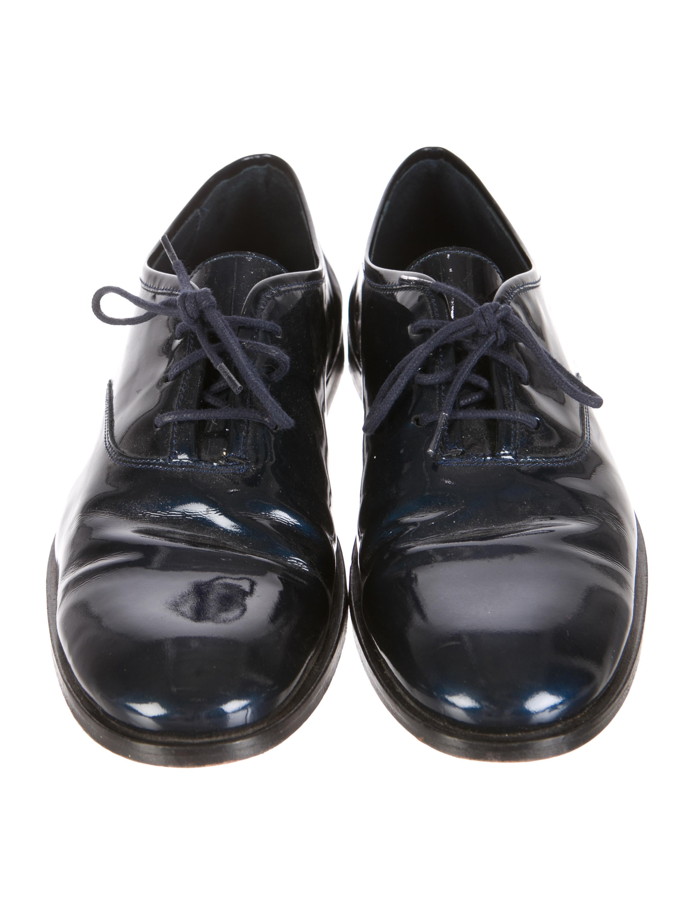opening ceremony patent leather derby shoes shoes