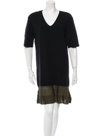 Opening Ceremony Fluted Knit Dress w/ Tags