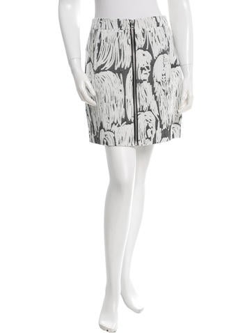 Opening Ceremony Patterned Mini Skirt w/ Tags